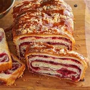 Bread Week: Cranberry Swirl Loaf