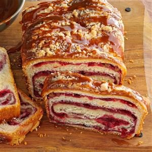 Cranberry Swirl Loaf Recipe