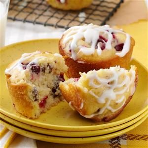 Cream Cheese Cranberry Muffins Recipe