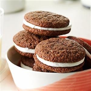 Cream-Filled Chocolate Cookies Recipe