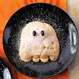 Cream Puff Ghosts Recipe