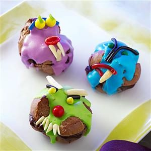 Cream Puff Monsters Recipe