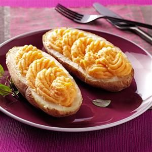 Creamy Butternut Twice-Baked Potatoes