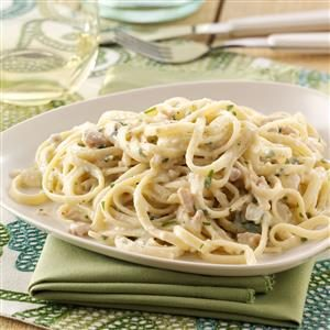 Creamy Clam Linguine Recipe
