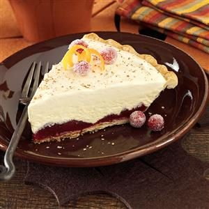 Creamy Cranberry Ice Cream Pie Recipe