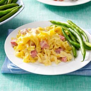Creamy Ham & Cheese Casserole Recipe