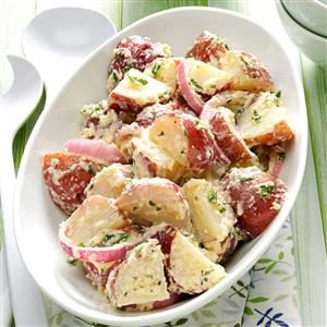 Creamy Italian Potato Salad