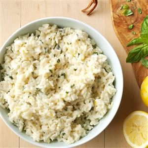 Creamy Lemon Rice
