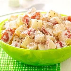 Creamy Lime Potato Salad Recipe