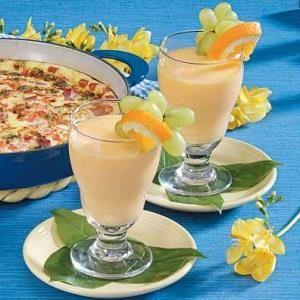 Creamy Mandarin Cooler Recipe