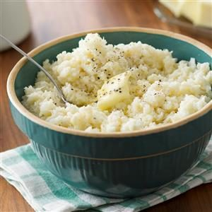 Creamy Mashed Cauliflower Recipe
