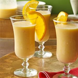 Creamy Orange Smoothies Recipe