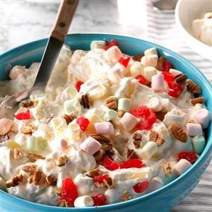 Creamy Pineapple Fluff Salad Recipe