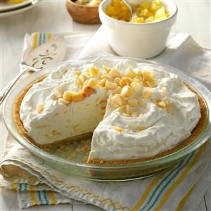 Creamy Pineapple Pie Recipe