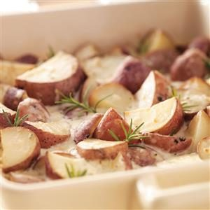 Creamy Rosemary Potatoes Recipe