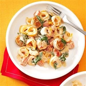 Creamy Tomato Tortellini with Sausage Recipe