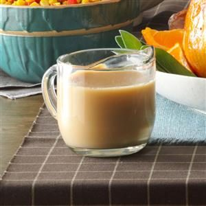 Creamy Turkey Gravy Recipe