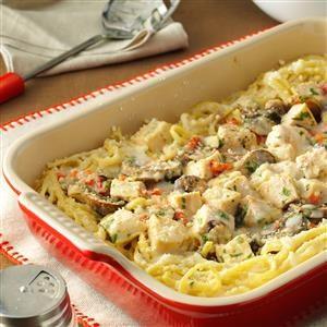 Creamy Turkey Tetrazzini