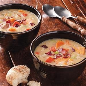 Creamy Vegetable Chowder Recipe
