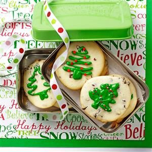 Creme de Menthe Cheesecake Cookies Recipe