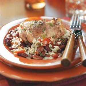 Creole Chicken Thighs