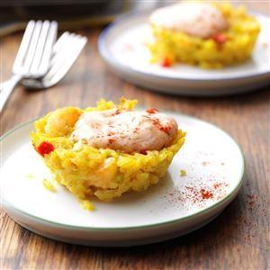 Creole Rice Cakes Recipe