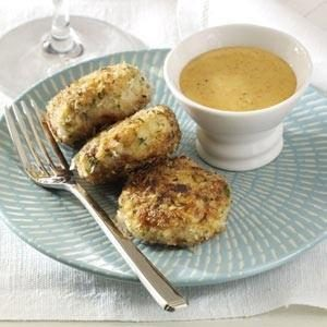 Creole Scallop Cakes Recipe
