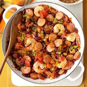 Creole Shrimp & Sausage Recipe