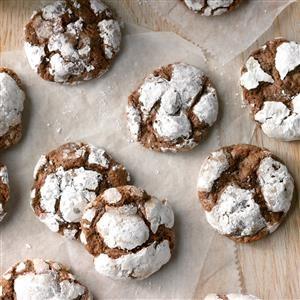 Crinkle-Top Chocolate Cookies Recipe