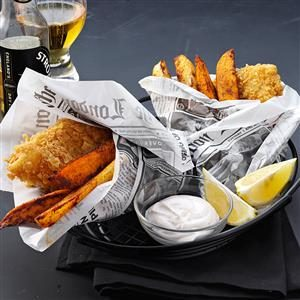 Crispy Beer Battered Fish