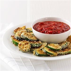 Crispy Grilled Zucchini with Marinara Recipe