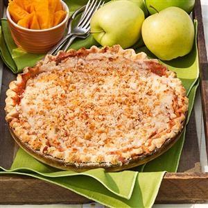 Crumb Topped Apple Pie Recipe