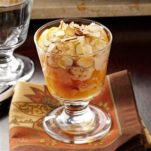 Crunchy Amaretto Peach Cobbler Recipe