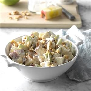 Crunchy Apple Side Salad Recipe