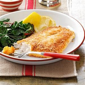 Crunchy-Coated Walleye