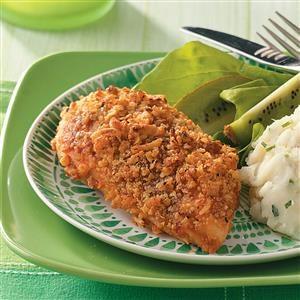 Crunchy Onion Barbecue Chicken Recipe