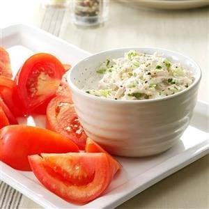 Crunchy Tuna Salad with Tomatoes Recipe