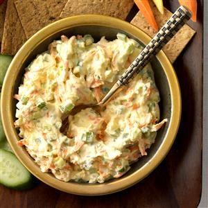 Crunchy Vegetable Dip Recipe