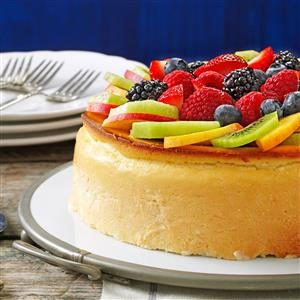 Crustless New York Cheesecake Recipe