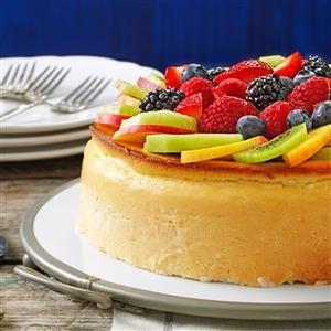 Crustless New York Cheesecake Recipe