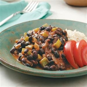 Taste of Home - Cuban Black Beans and Rice