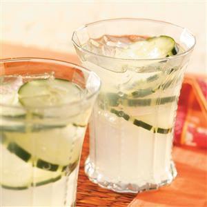 Cucumber Punch Recipe