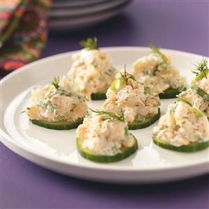 Cucumber Shrimp Appetizers