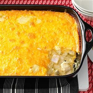 Curried Chicken and Grits Casserole