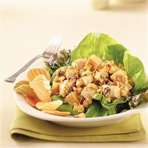 Curried Chicken Salad for Two Recipe