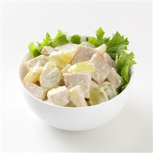 Curried Chicken Salad with Pineapple and Grapes Recipe