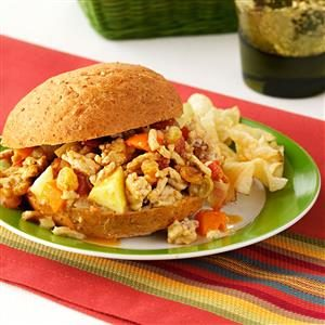 Curried Chicken Sloppy Joes Recipe