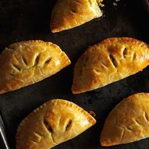 Curried Chicken Turnovers