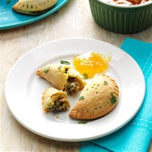 Curried Mushroom Empanadas Recipe