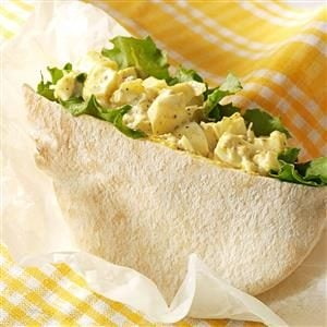 Curried Olive Egg Salad Recipe